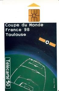 フランス98_TLSテレカ