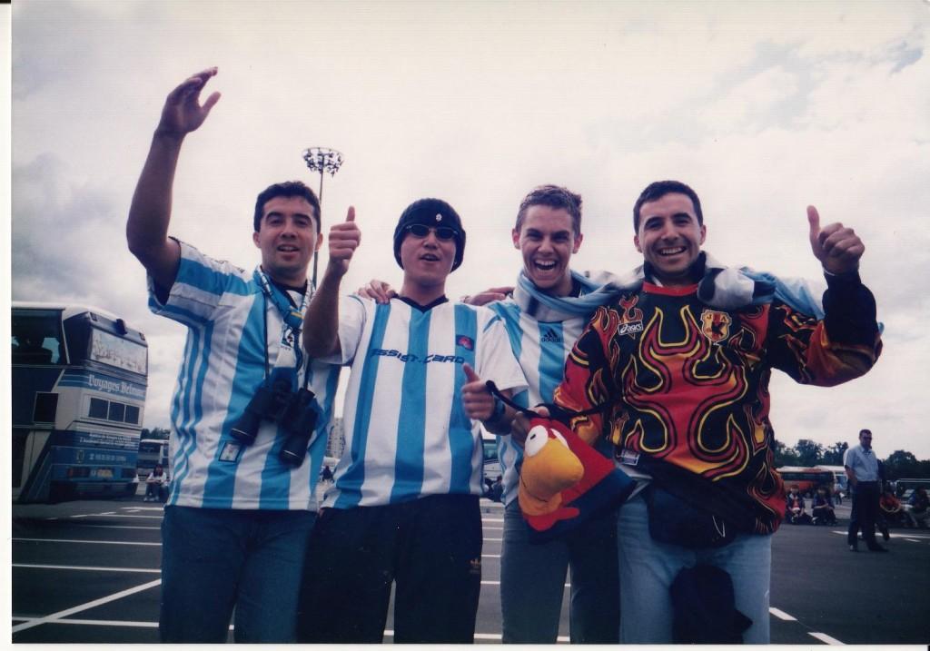 フランス98アルゼンチン