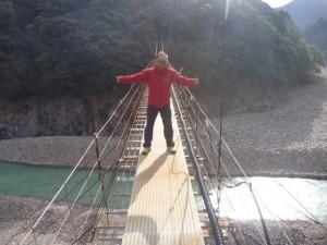 本田さん吊り橋