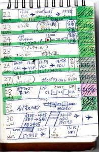 BRASILメモ旅程2