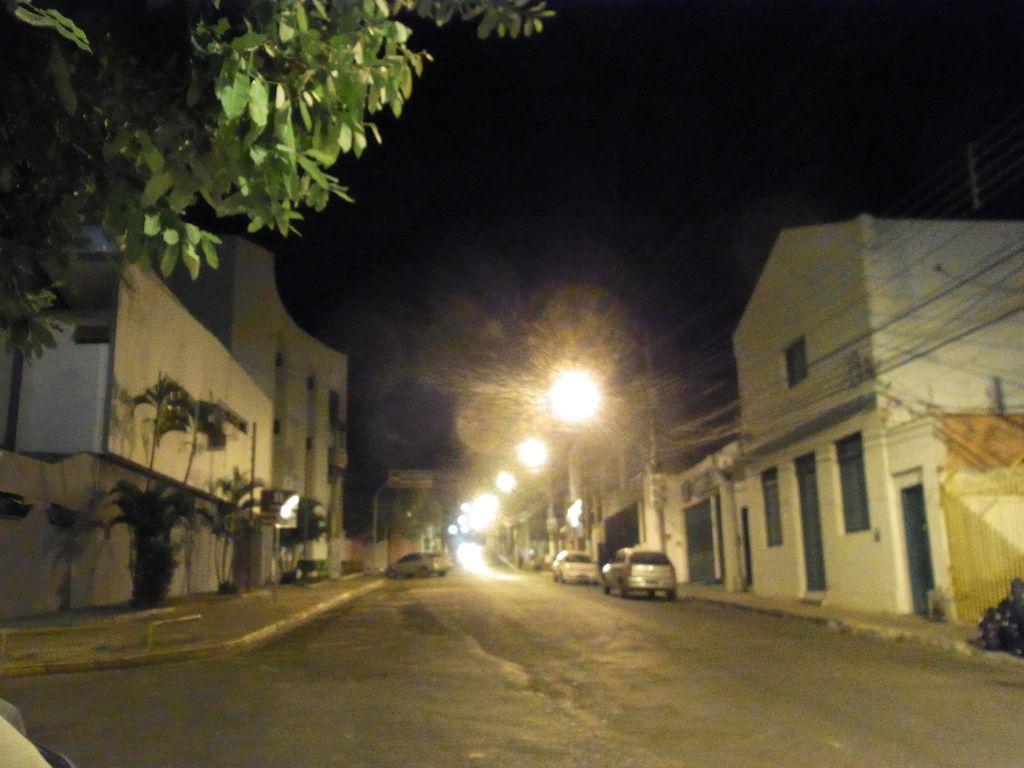 クイアバの夜道