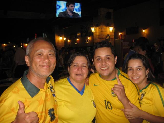ブラジル戦後