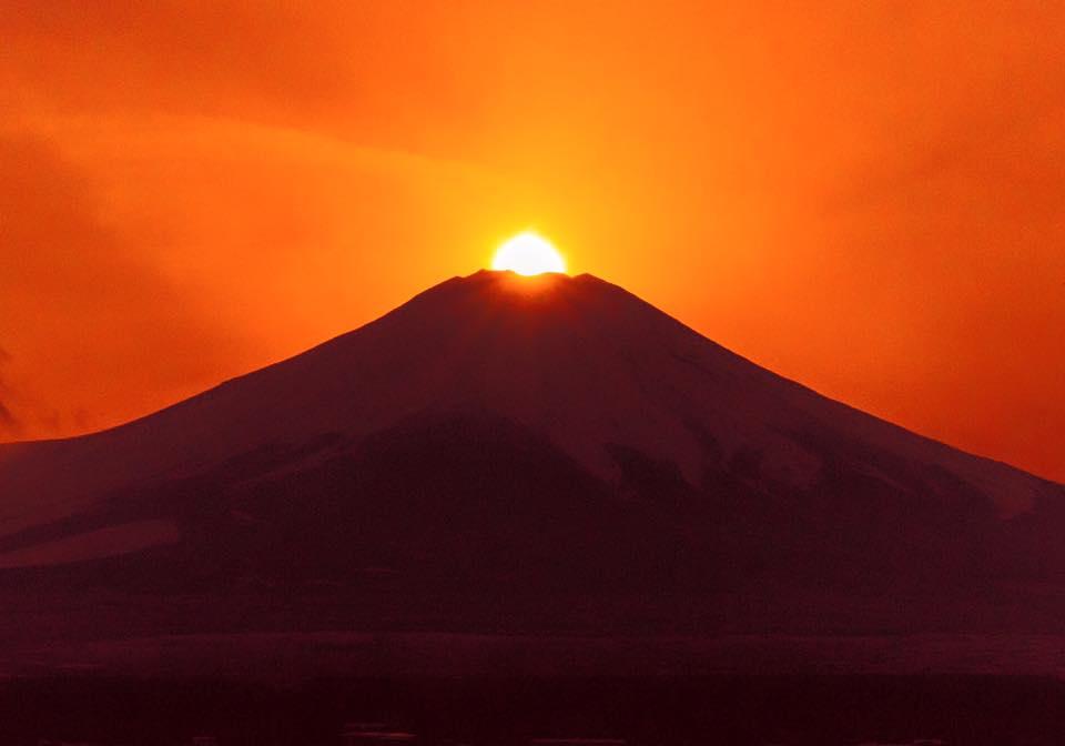齊藤雅晃さん富士山夕陽
