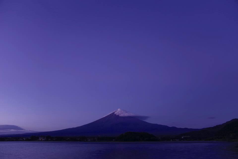 藤岡貞二さん富士山