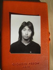 大学生の顔